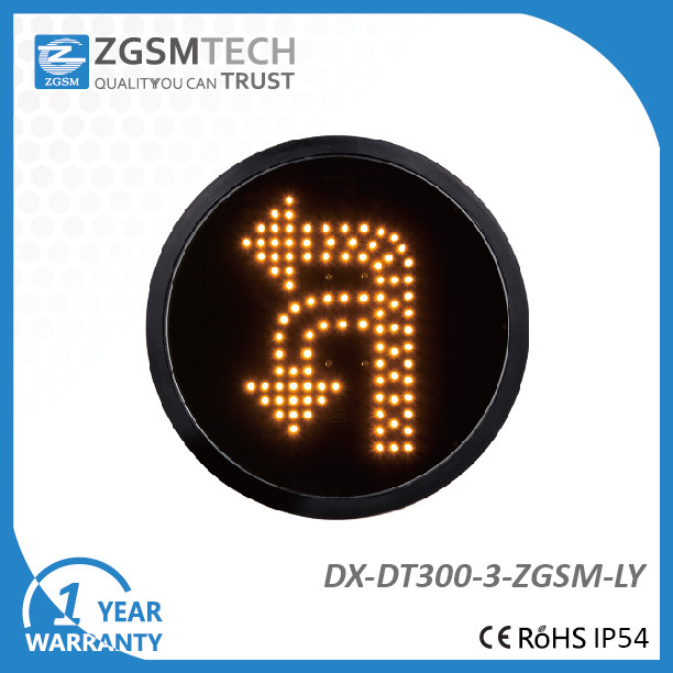 300mm LED Yellow Arrow and Turn Signal Modules