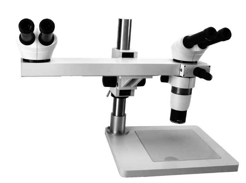 Multi-Viewing Stereo Microscope with Max Magnification 80X and Wd 276mm