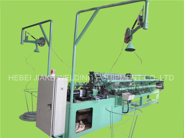 Full Automatic Chain Link Fence Machine From China