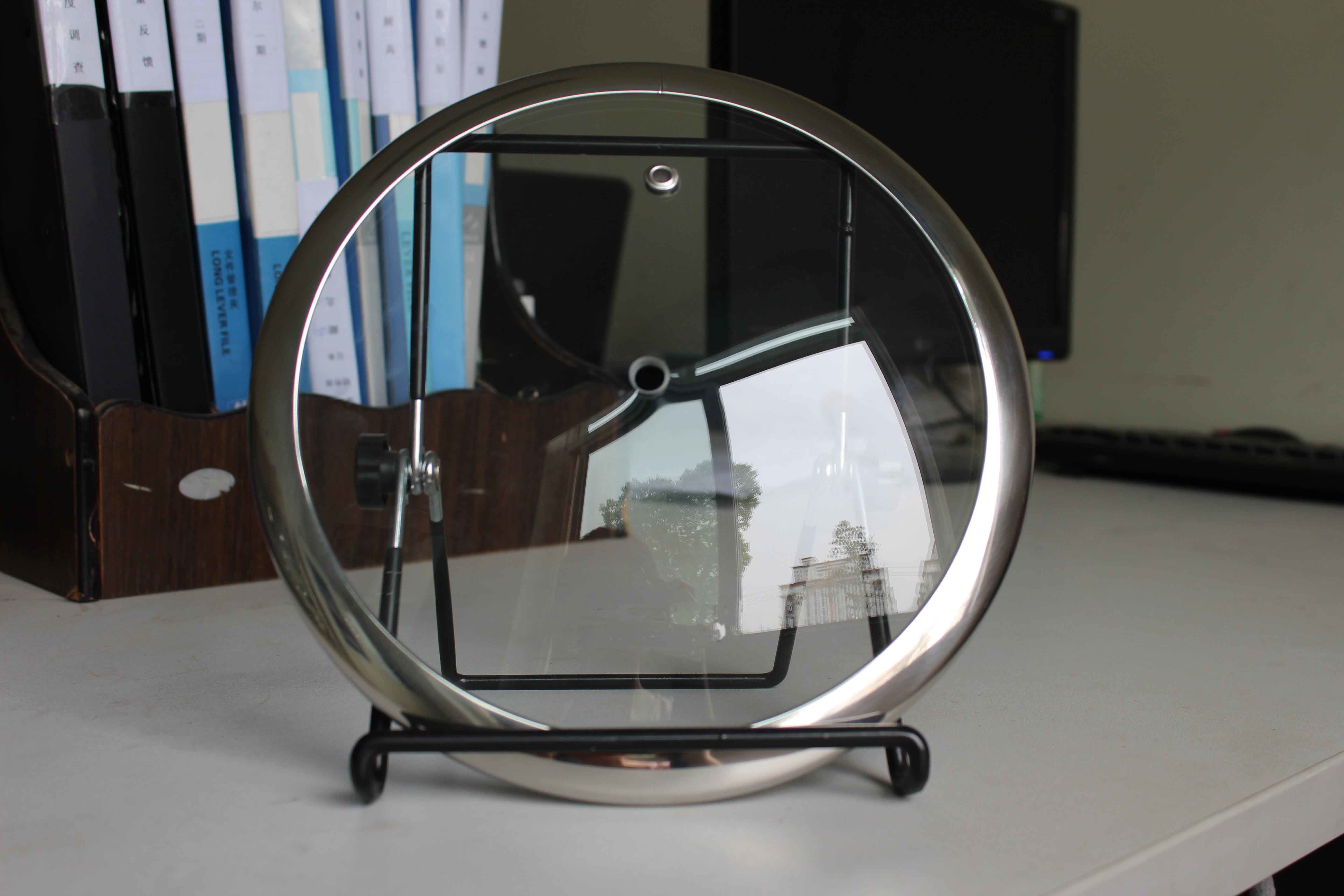 Wide Rim C-Type Round Tempered Glass Lid