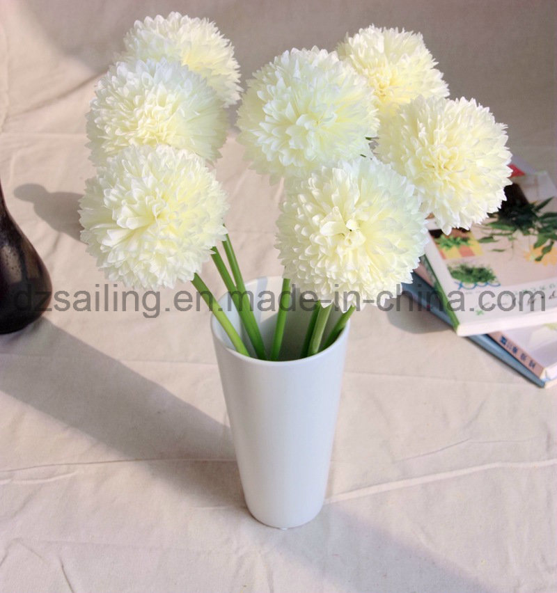 Single Pop Mum Flower for Home Decoration (SW13301)
