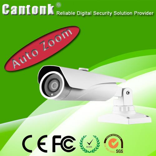 4.0 MP CMOS HD-Ahd Weatherproof Security CCTV IP Cameras 4X Motor Focus Zoom Lens