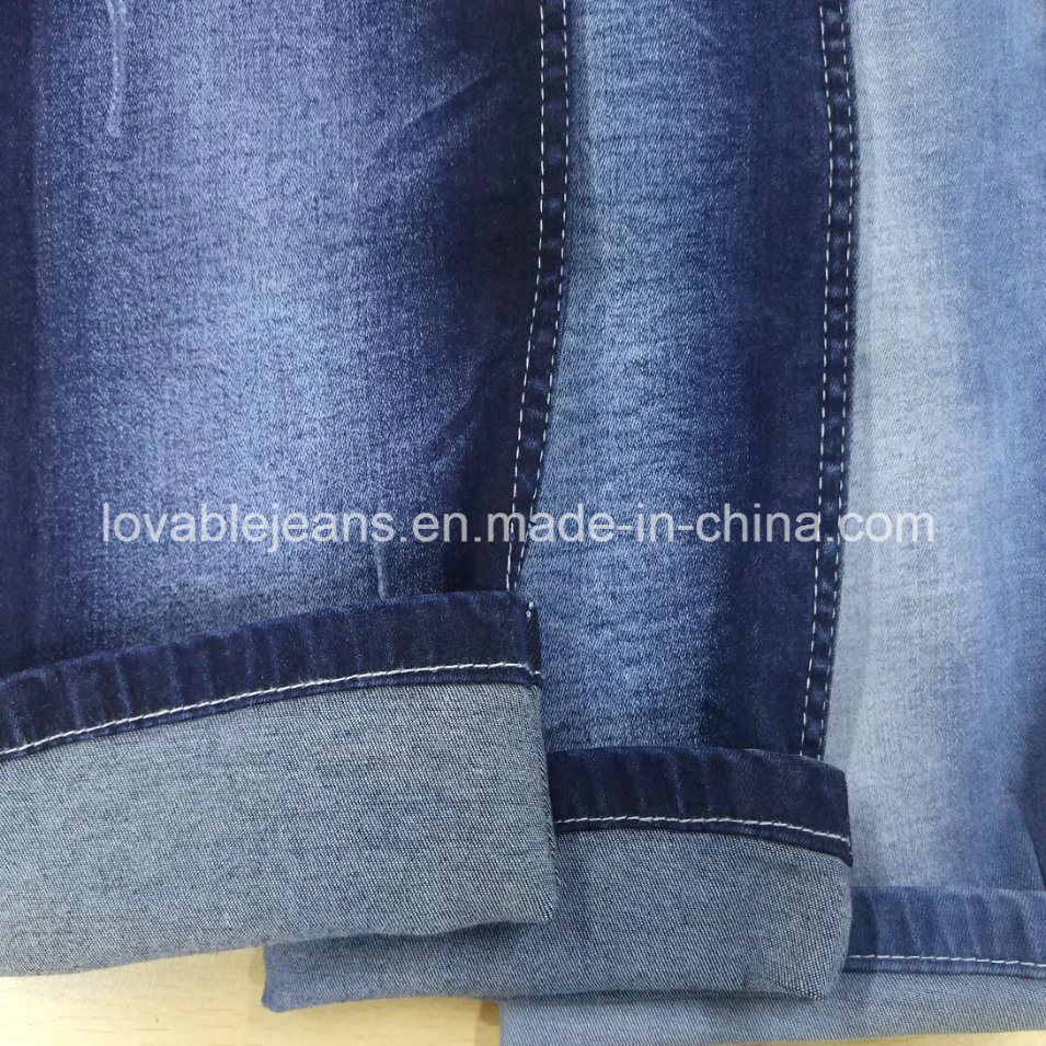9 Oz Stretch Denim Fabric for Jeans (KL112)