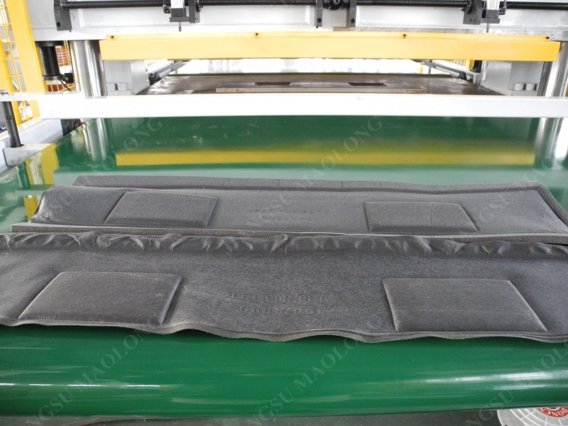Car Sound-Absorbing Cotton Sealing Side Cutting Press Hydraulic Press Machine