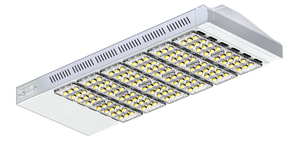 30W 60W 90W 120W 150W 180W 210W LED Street Lighting Fixtures