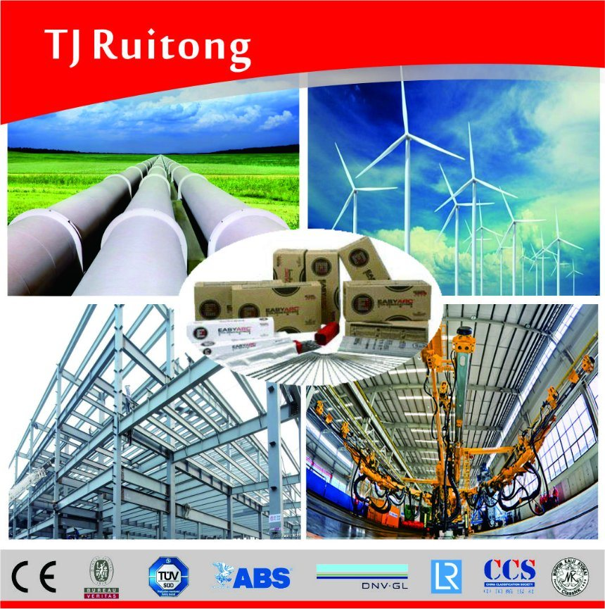 Mild Steel Welding Electrodes Lincoln Welding Rod E7018-1h4r/J506fe-1