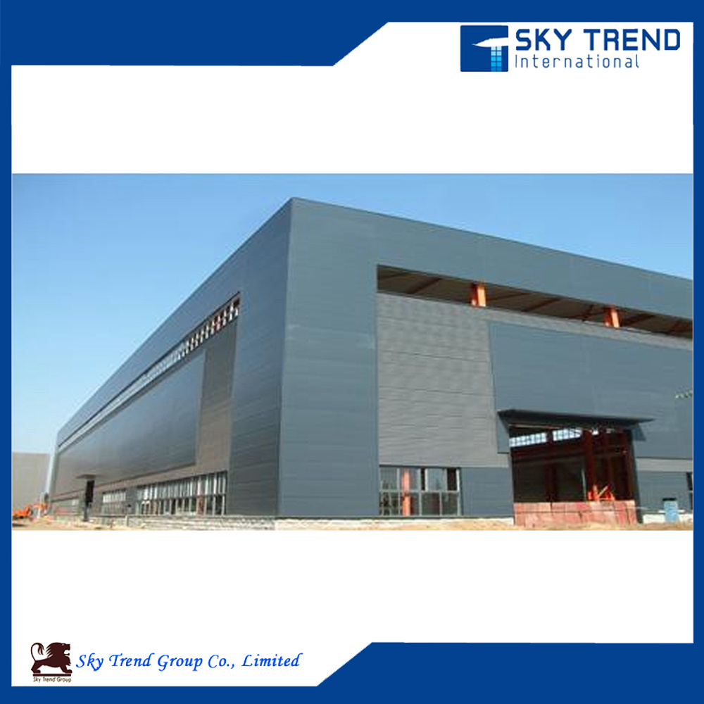 High Quality Prefabricated Steel Structure Building with H Beam