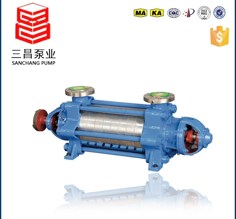 Single Suction Multistage Centrifugal Pumps for Both Mine and Urban Water Supply and Discharge Project