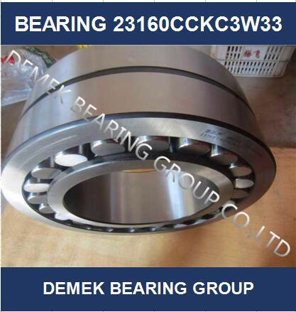 Spherical Roller Bearing 23160 Cckc3w33 with Steel Cage