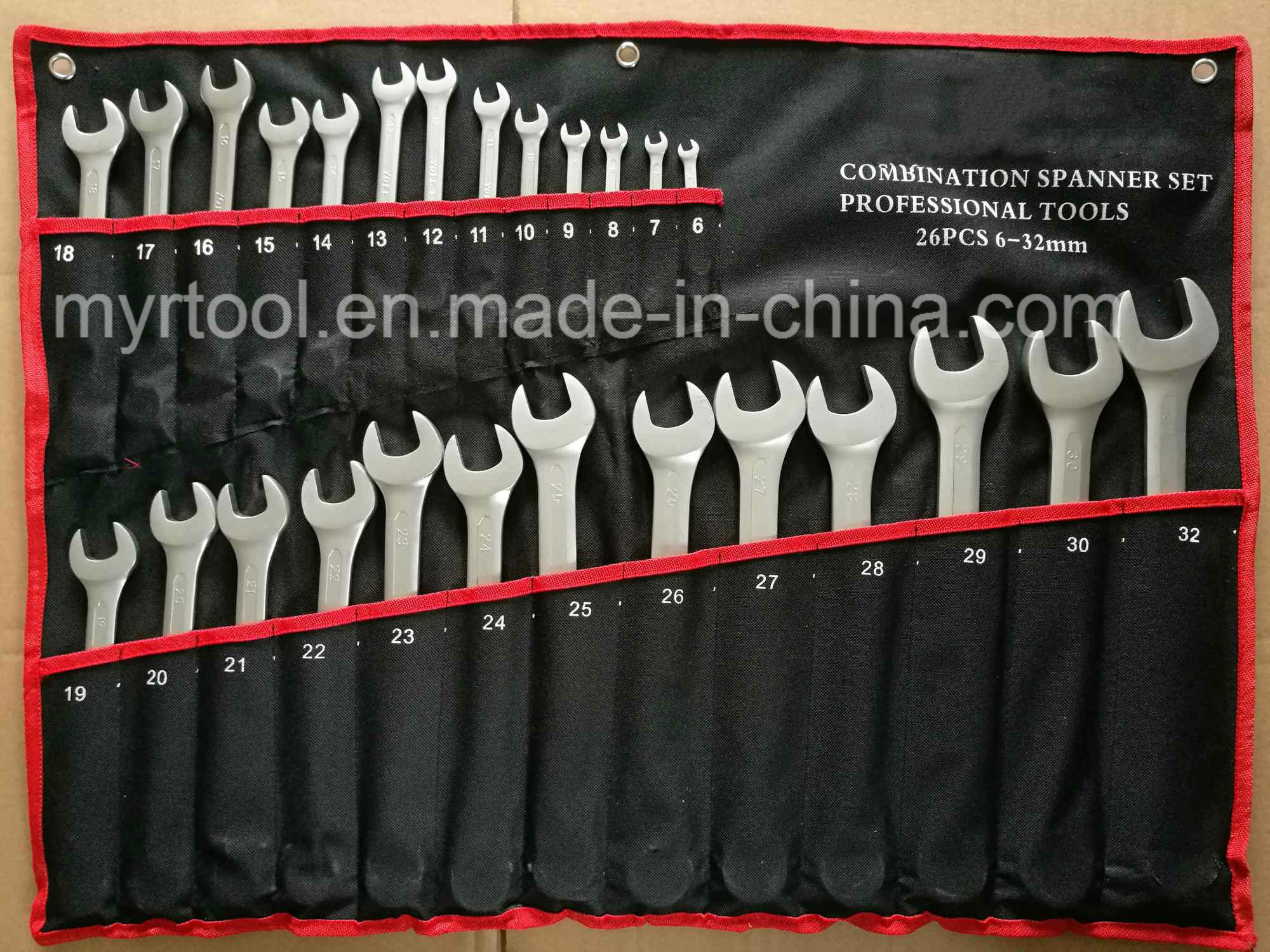 Hot Selling-26PCS Combination Wrench Tool Set (FY1026W)