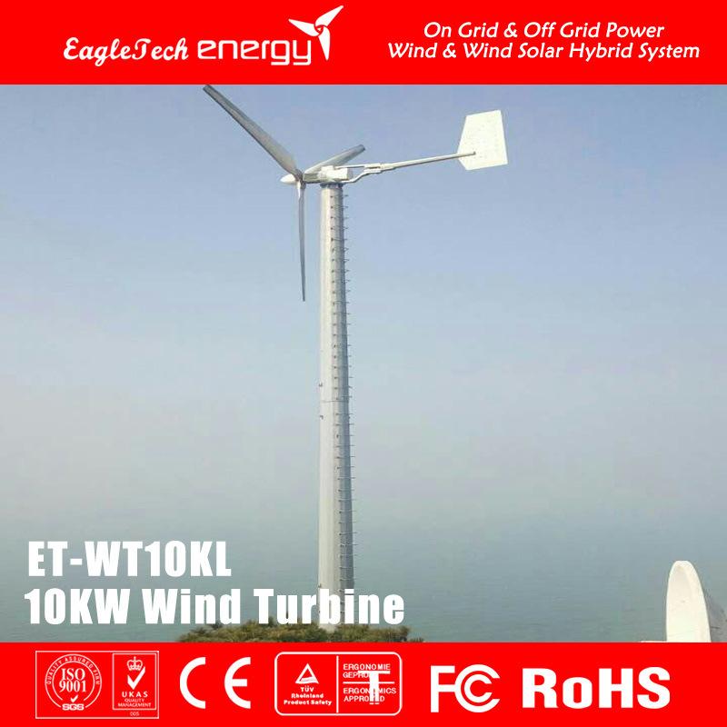 10kw Wind Turbine Generator Wind Power System Windmill