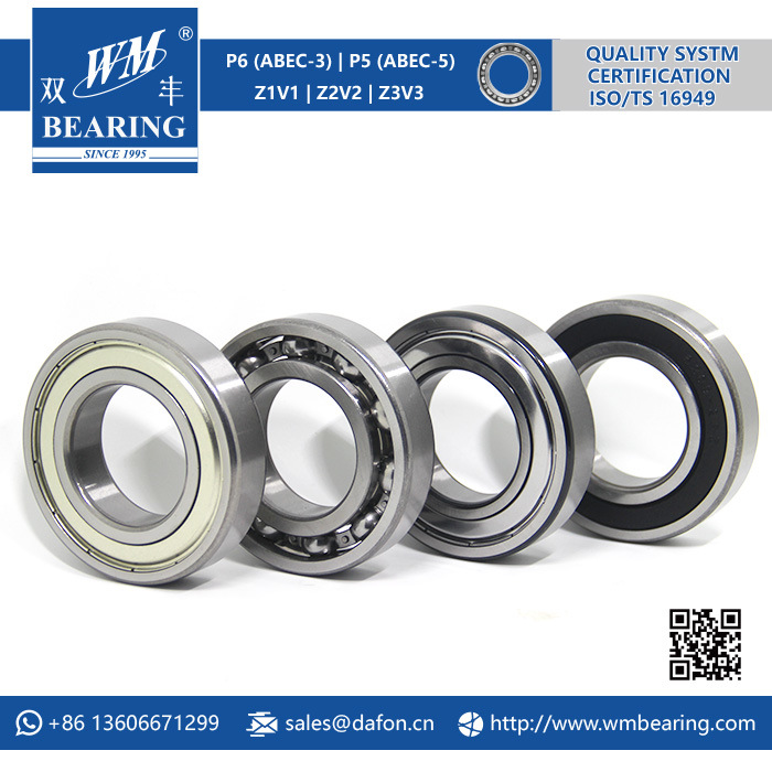 6209 Zz 2RS High Speed Spindle Radial Ball Bearing