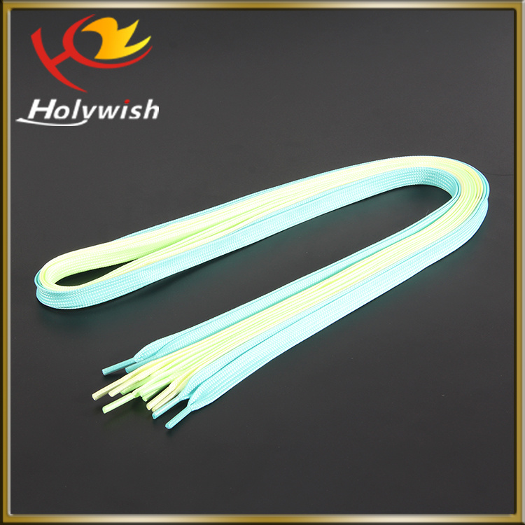 Wholesale Promotion LED Flashing Shoelace for Running