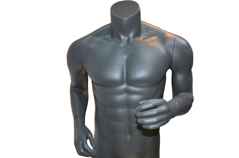 Hi-End Fiberglass Sportswear Clothes Display Running Mannequins Custom