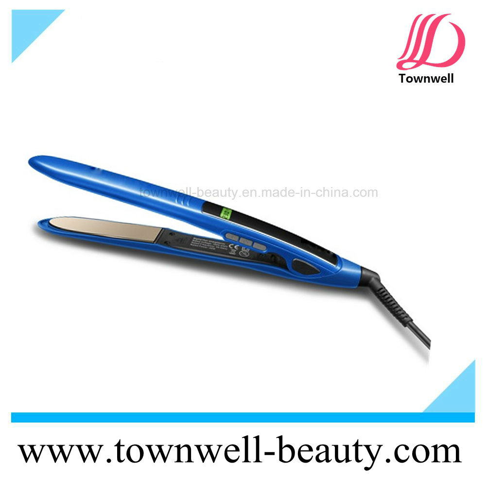 Fast Hair Straightener LCD Display Mch Flat Iron