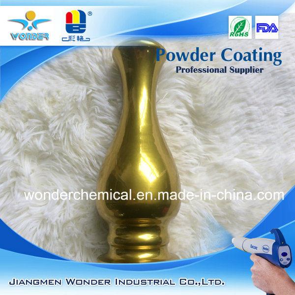 Golden Mirror Chrome Silver Effect Powder Coating