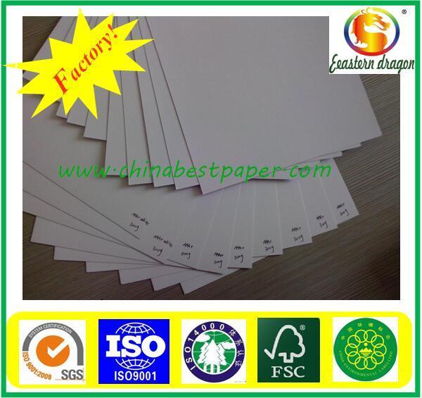 Stocklot Paper Offset Printing Duplex Paper Virgin Pulp