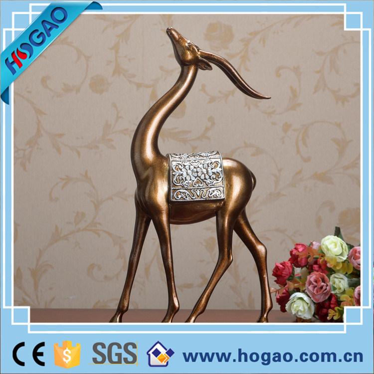 Antique Bronze Golden Resin Craft Home Decor Bronze