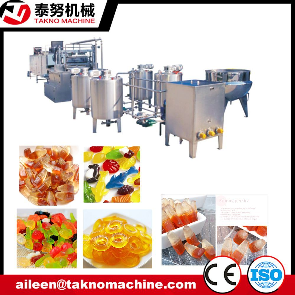 Complete Automatic Jelly Candy Depositor