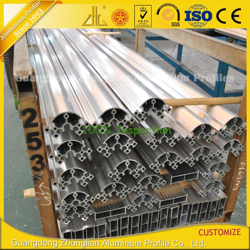 Aluminium Manufacturer Supply 6063 Anodized T Slot Aluminum Extrusion