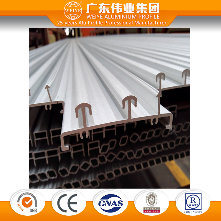 Anodized Aluminum Profiles Alloy for Sliding Window with TUV Certification