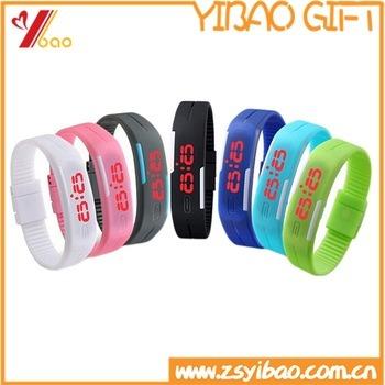 Silicone LED Watch, Watch Silicone, Silicone Watch Band