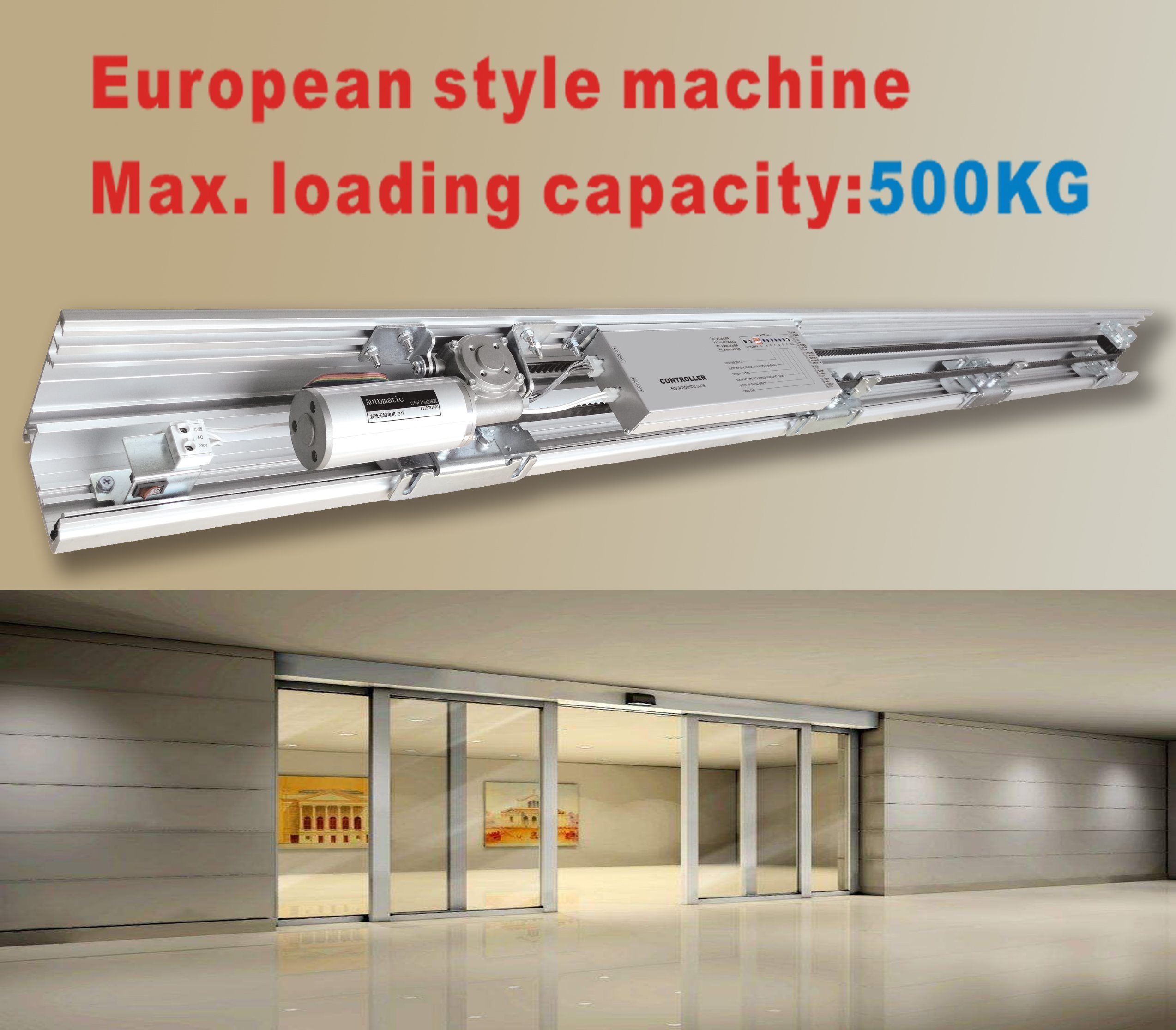 Automatic Sliding Door Operator with Heavy Type Machine