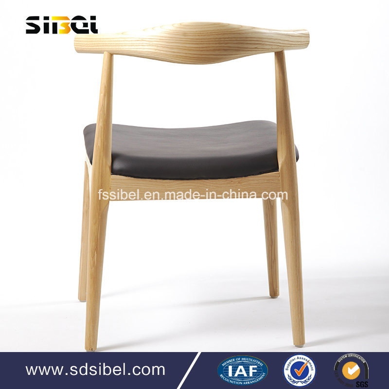 Modern Living Room Hotel Coffee Shop Furniture Restaurant Wooden Dining Chair Sbe-CZ0632