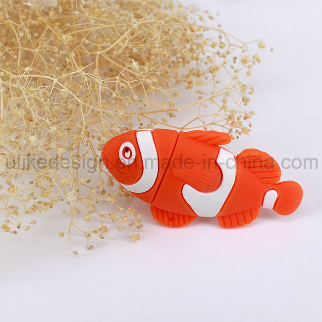 Sea Fish Promotion USB Flash Drive (UL-PVC036)