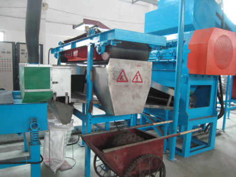 Full Automatic Waste Tire Recycling Rubber Powder Making Machine