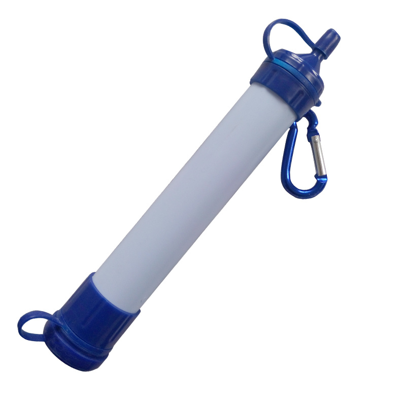 Portable Outdoor Survival Personal Water Filter Straw for Camping Hiking