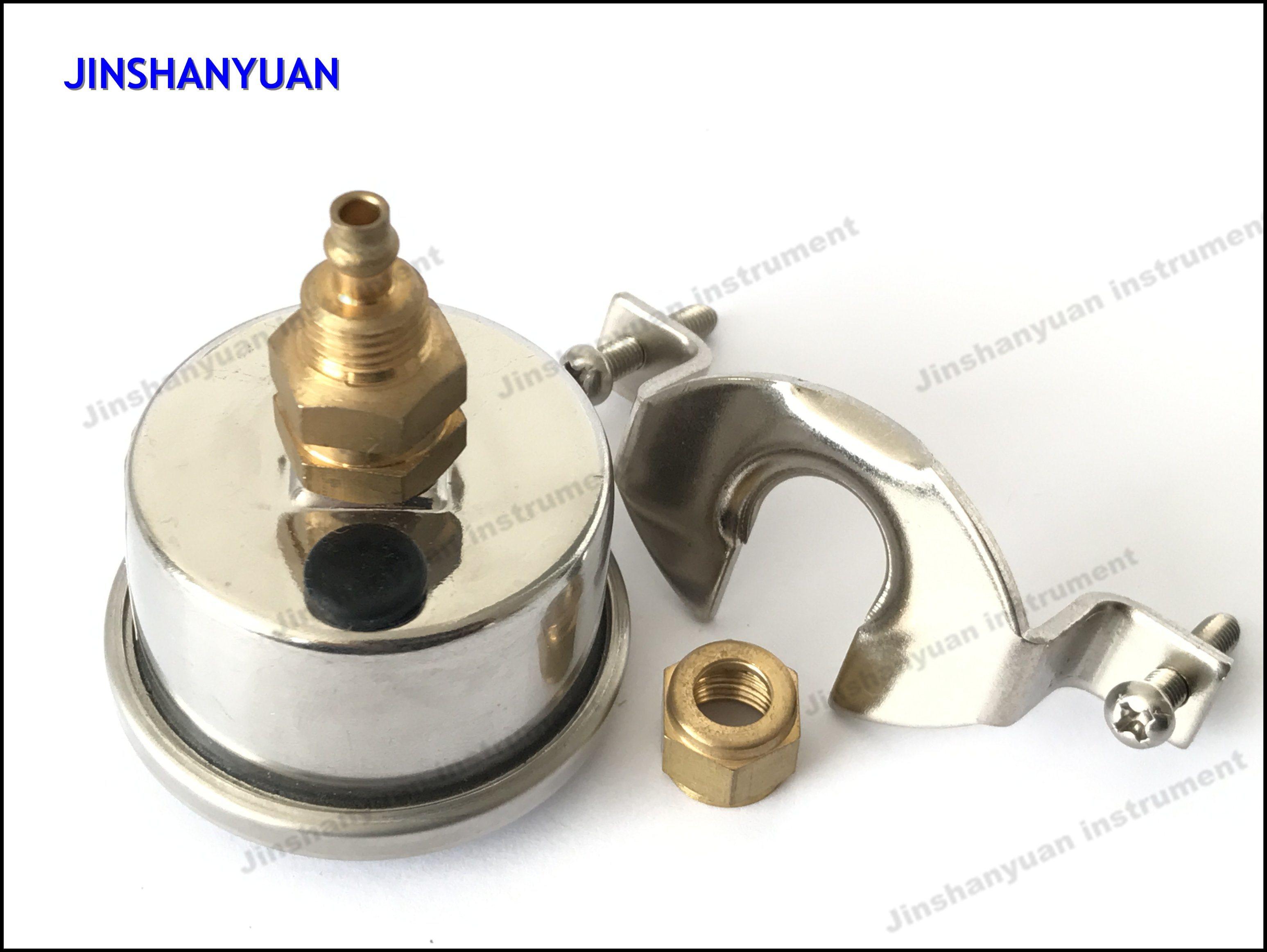 Og-003 Liquid Filled Manometer with Clamp/Pressure Gauge