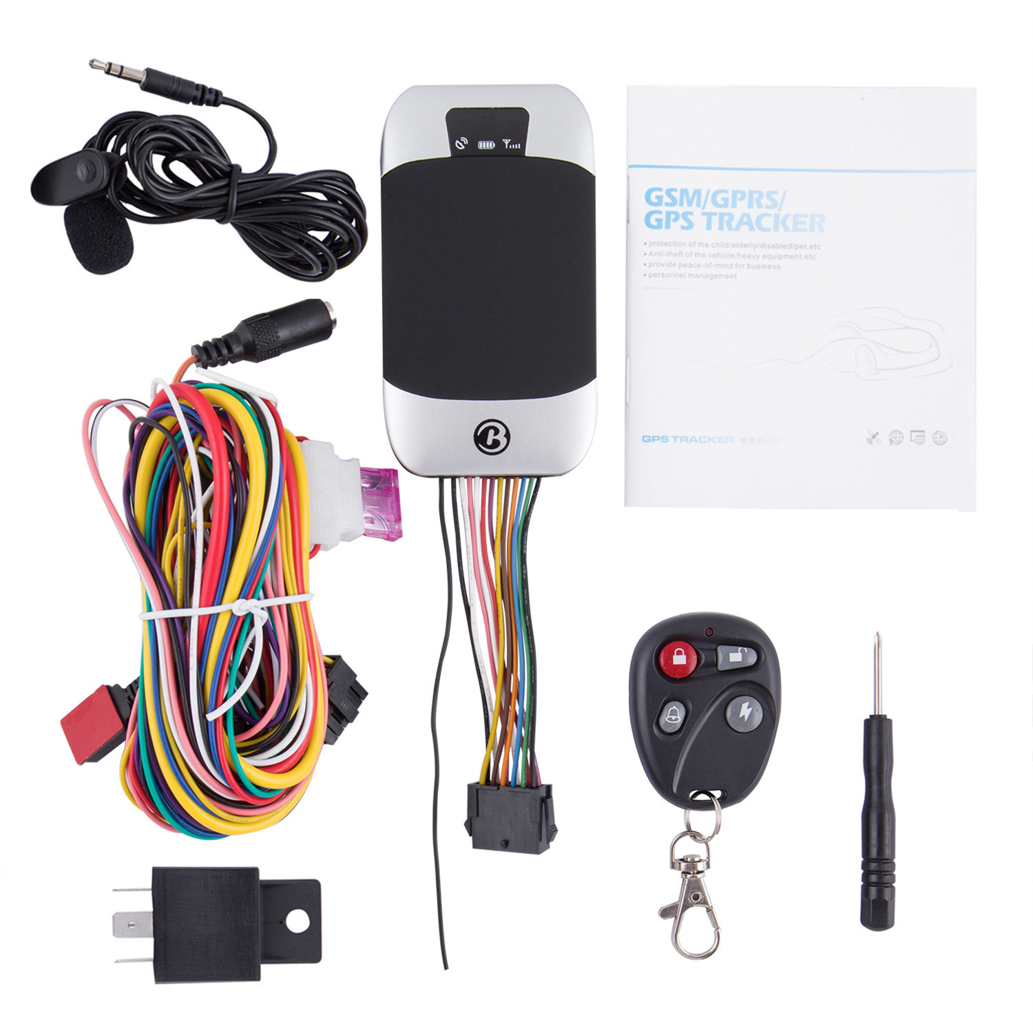GPS303G GPS GSM Vehicle Motorcycle Tracker on Tracking Software