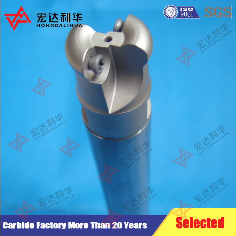 Tungsten Carbide Boring Rods with Internal Threading