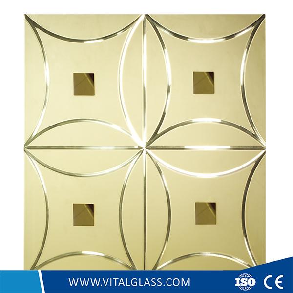 Mosaic Mirror/Silver Aluminium/Copper and Lead Free Mirror/Decorative Mirror with Ce