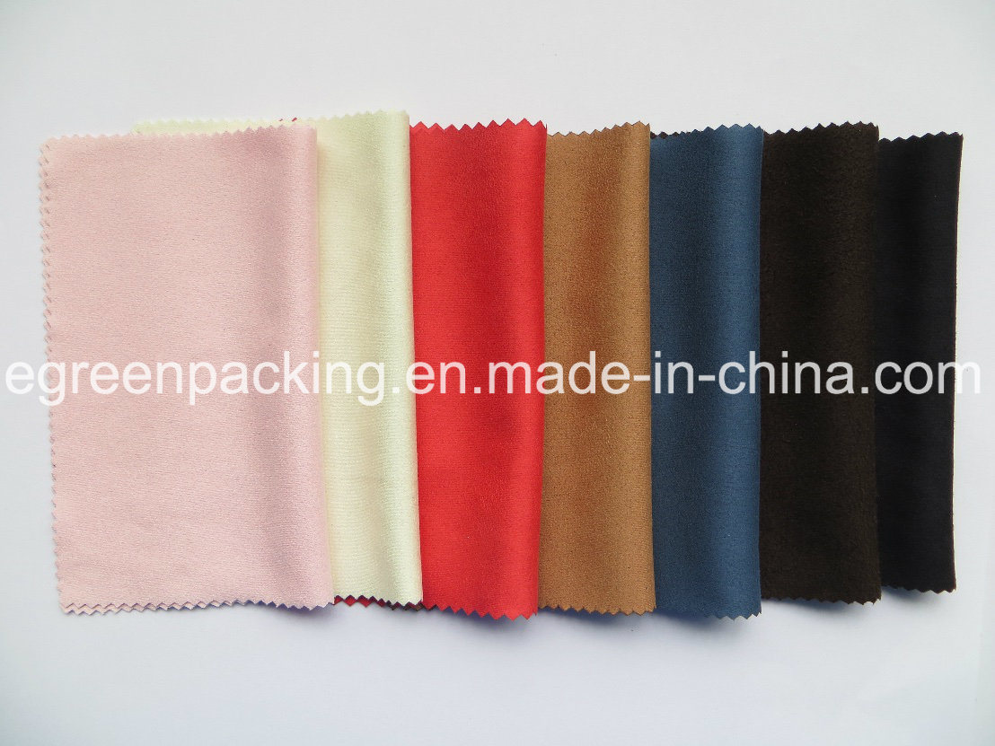 Microfiber Optical Lens Cleaning Cloth (chamois/suede 200-220GSM)