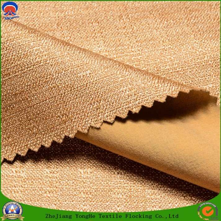 Home Textile Woven Polyester Fabric Waterproof Fr Coating Blackout Curtain Fabric for Window and Sofa
