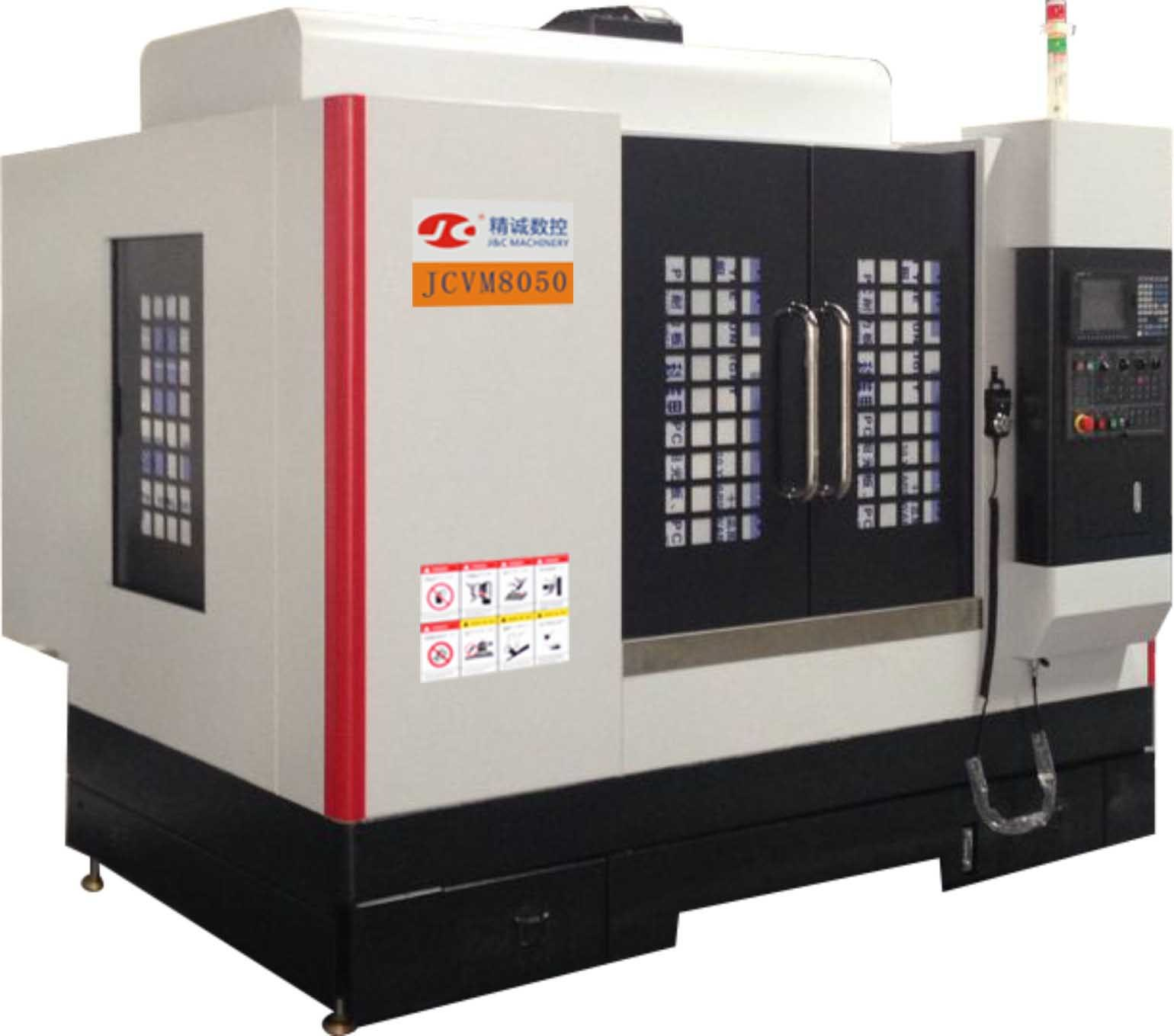 Jcvm8050 High Speed Vertical CNC Machining Center with Standard 24 Tools.