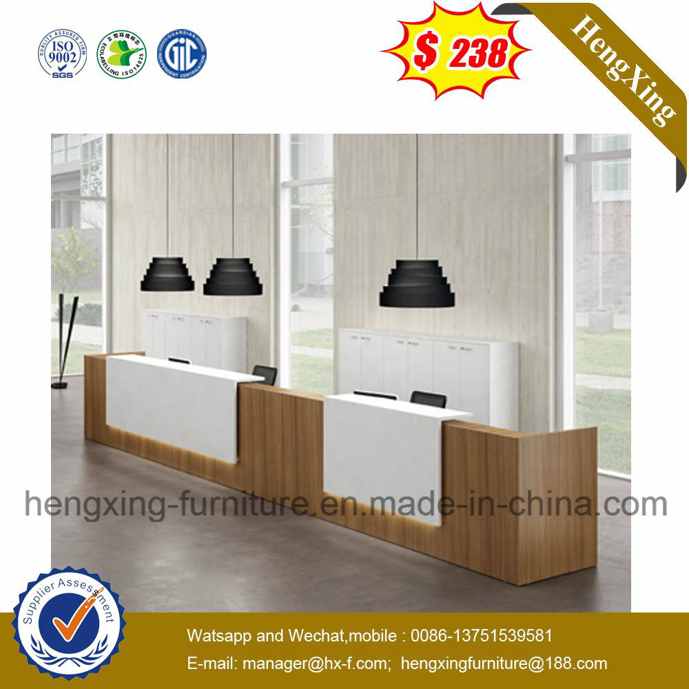 Hot Sale Cheap Wooden Office Table Reception Desk
