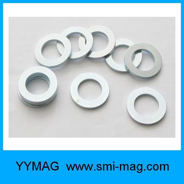High Coercive Force NdFeB Permanent Neodymium Ring Magnet