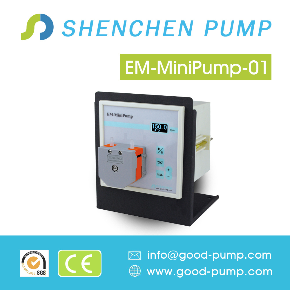 Compact Mini Peristaltic Pump