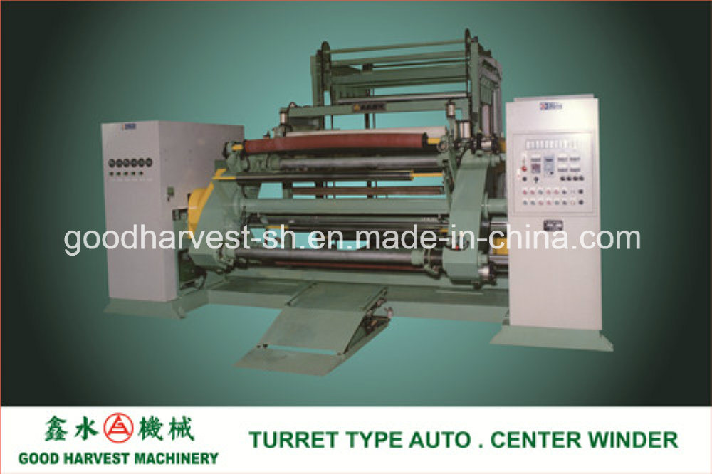 Turret Type Auto. Center Winder for Calender Line