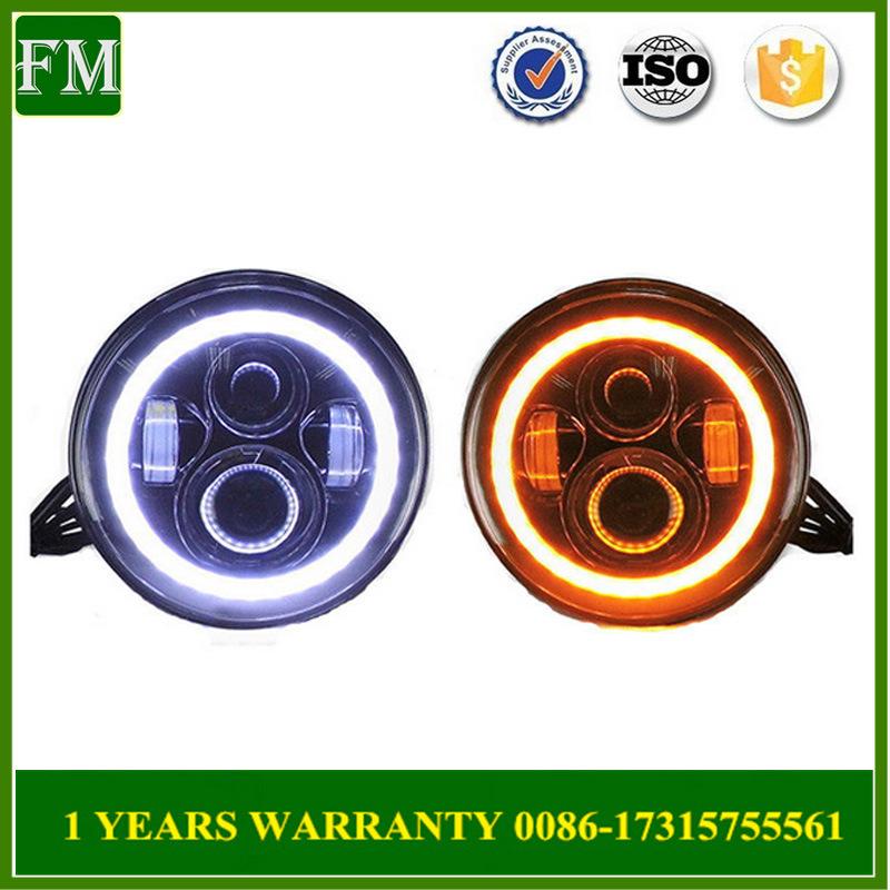 Auto Parts 45W 4D LED Front Lamp for Jeep Wrangler Jk