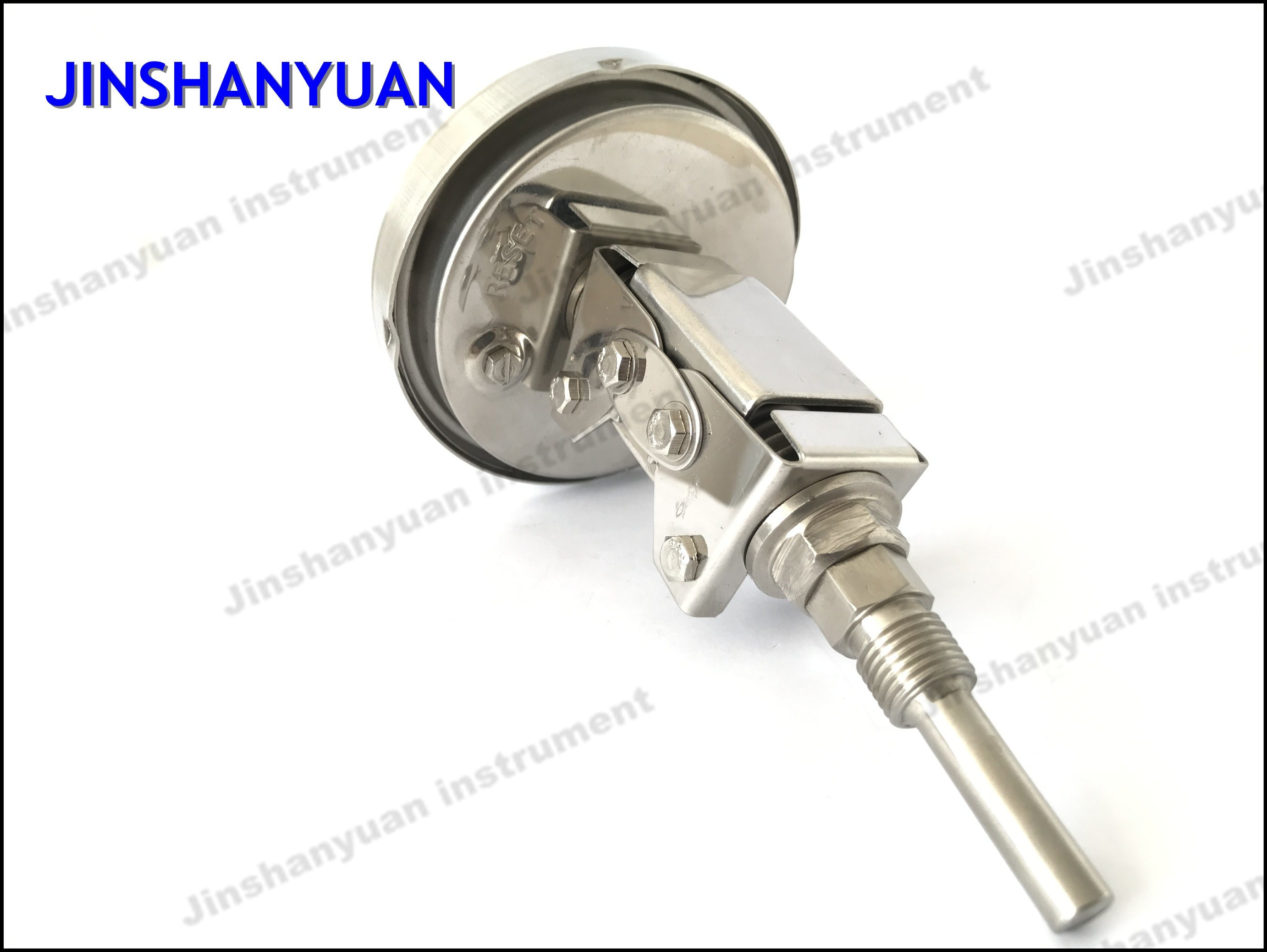 Bt-012 Universal Joint Thermometer/Axial Mounted Bimetallic Thermometer