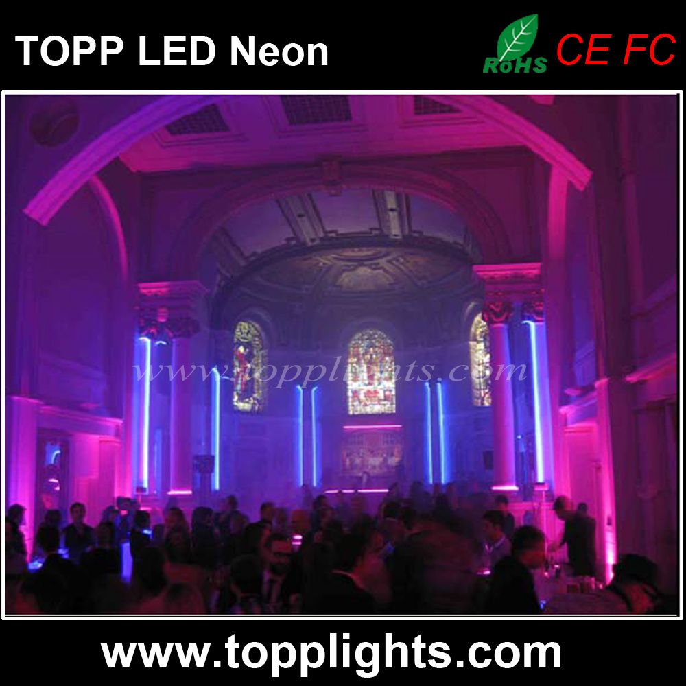 High Brightness Flexible 230V LED Neon Light for TV Station