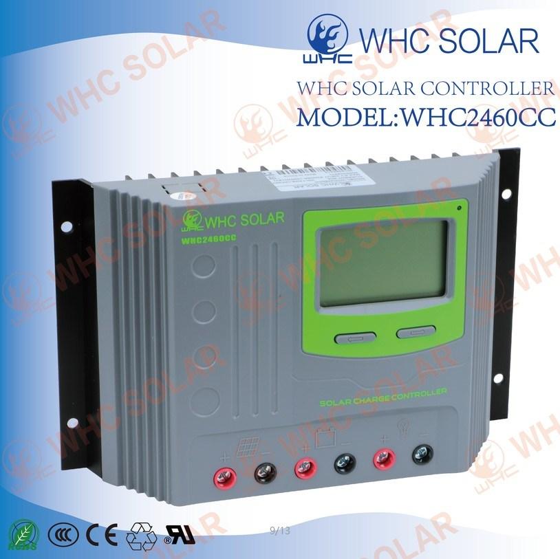 Plastics Shell USB 12V/24V 60A PWM Solar Regulator