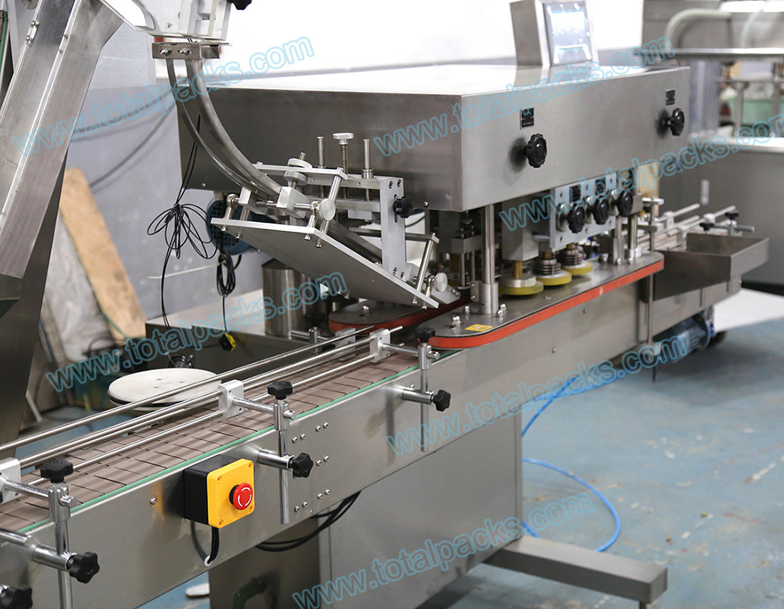 Automatic Linear Capping Machine (CP-250A)