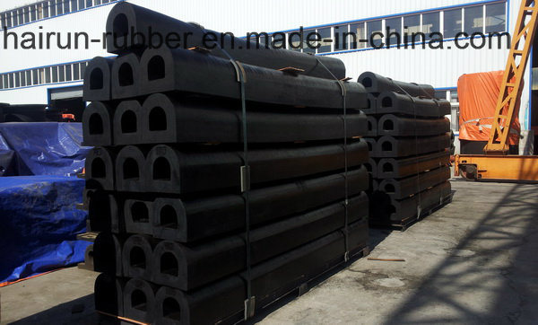 Type D Marine Rubber Fenders for Boat Protection (ISO9001)