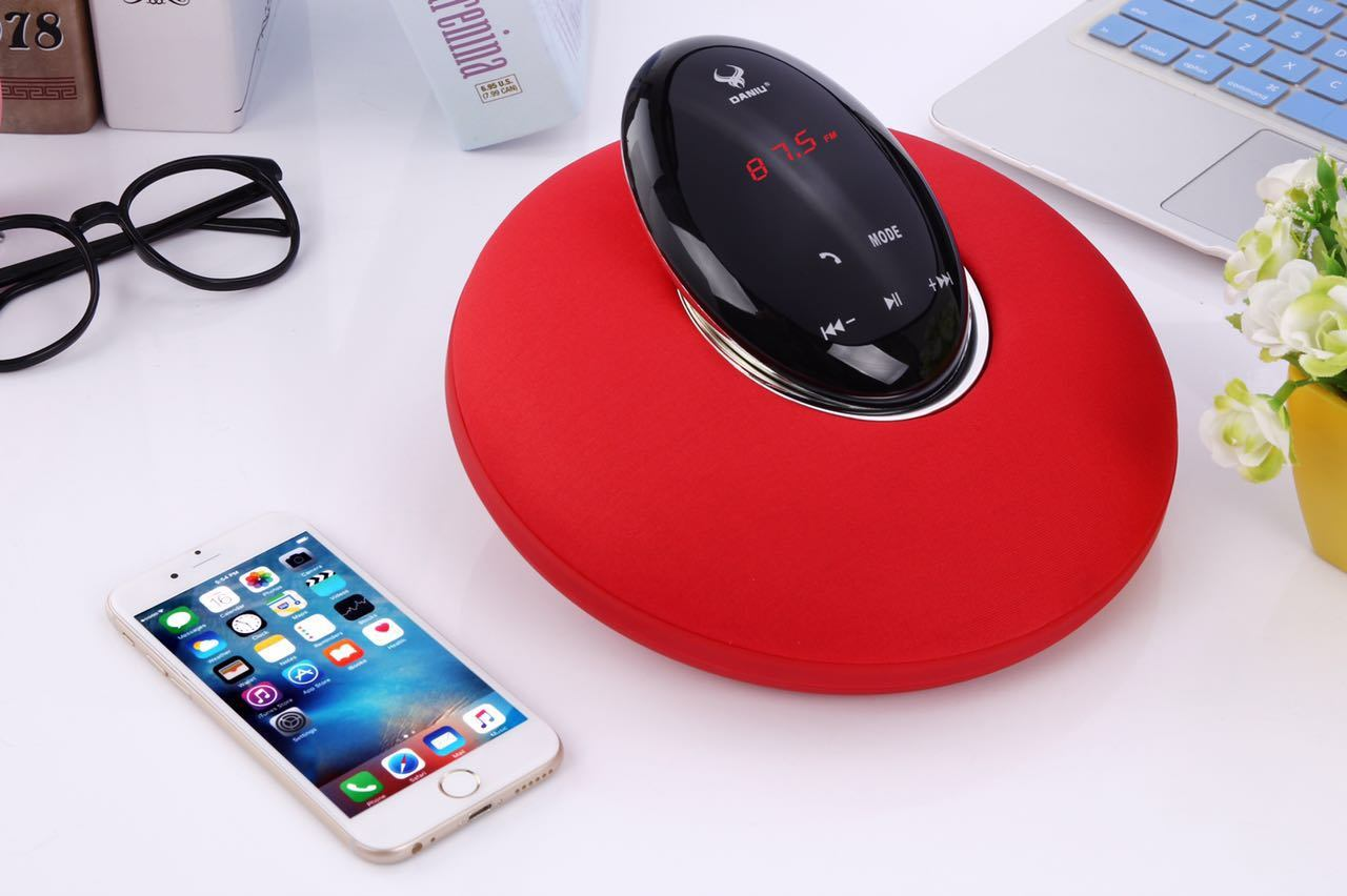 2.1 CH Bluetooth Speaker with Digital Display+Touch Control+2000mA+15W (DS-7610)