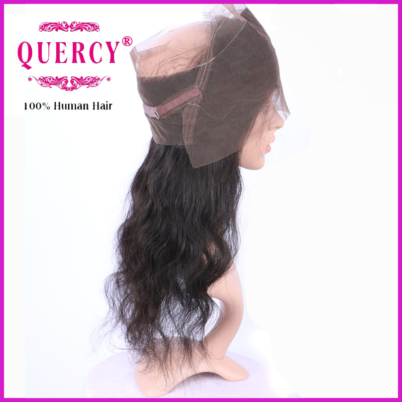 Peruvian Virgin Remy Body Wave Hair 360 Lace Frontal